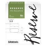 D'Addario - Reserve Alto Saxophone Reeds, Strength 3.0, 10-pack