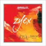 Set of D'Addario Zyex Violin Strings 4/4 Medium Tension