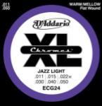 D'Addario ECG24 Jazz Light Gauge