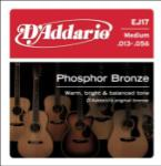 D'Addario EJ17 Phosphor Bronze Acoustic Guitar Strings, Medium