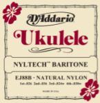 D'Addario  D Addario EJ88B Nyltech Ukulele Strings, Baritone
