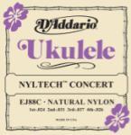 D'addario Nyltech Ukulele Strings Concert