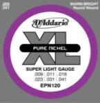 D'Addario XL Pure Nickel Electric Guitar Strings Super Light