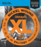D'Addario EXL110BT Nickel Wound Electric Guitar Strings, Balanced Tension Regular Light, 10-