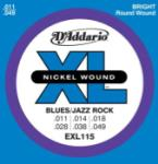 D'Addario XL - Nickel Wound, 11- 49 Medium