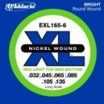 D'Addario XL Bass Strings 32-135 (6-String)
