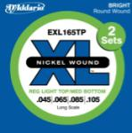 D'addario 2-PACK BASS XL 45-105 LONG EXL165TP