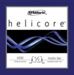 H310_4/4M D'Addario Helicore Violin String Set, 4/4 Scale, Medium Tension