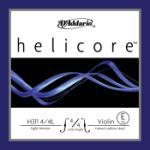 D'Addario Helicore Violin Single E String, 4/4 Scale, Light Tension