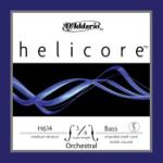 D'Addario Helicore Orchestral Bass Single E String, 3/4 Scale, Medium Tension H61434M