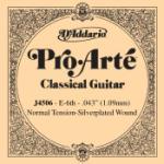 D'Addario J4506 Pro-Arte Nylon Classical Guitar Single String, Normal Tension, Sixth String