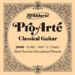 D'Addario J4606 Pro-Arte Nylon Classical Guitar Single String, Hard Tension, 6th String E