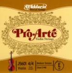 D'Addario D'Addario Pro-Arte Violin Single E String, 4/4 Scale, Medium Tension