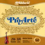 D'Addario J5634 3/4 Violin String Set Pro Arte J56 3/4M