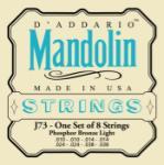 D'addario D'Addario J73 Mandolin Light Phos. Brz. EJ73