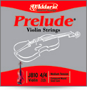 D'Addario Prelude Violin Single E String, 1/8 Scale, Medium Tension