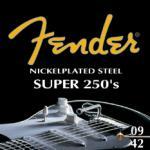 F250L  Fender 9-42 electric guitar strings