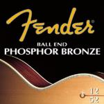 F60L  Fender 12-53 ph bronze acoustic string