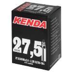 020097-22 Kenda, Presta Valve, Tube, Presta, 48mm, 27.5x2.8-3.0