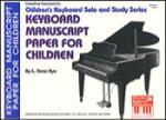 Keyboard Manuscript Paper For Children -