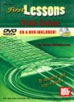 First Lessons Folk Guitar  Book/CD/DVD Set