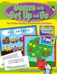 Games with Get Up and Go Games,CD-R