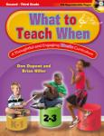 What to Teach When - Grades 2-3