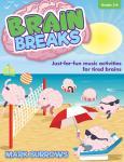 Brain Breaks, Grades 3-6 - Reproducible Book