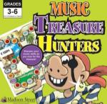 Music Treasure Hunters Board Game GAMES