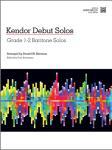 Kendor Debut Solos w/mp3 [baritone TC] Bari TC