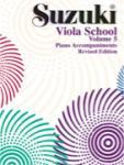 Suzuki Viola Vol 5 - Revised - Accomp