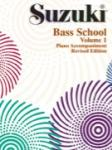 Suzuki Bass School, Volume 1 - Piano Accompaniment