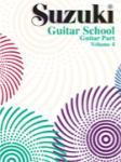 Suzuki Guitar School Guitar Part Vol. 4