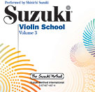 Violin School CD v. 3  (perf. Suzuki)