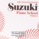 Suzuki Piano CD Vol 6