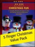 5 Finger Christmas Value Pack [Piano]