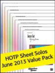 Sheet Solos Value Pack 2013 [pending]
