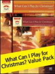 What Can I Play for Christmas Value Pack PIANO