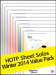 Sheet Solos Value Pack Winter 2014 [pending]