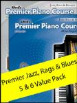 Alfred Premier Jazz Rags & Blues Value Pack 5 & 6 [piano]