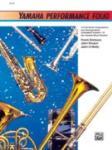 Yamaha Performance Folio - Baritone Saxophone