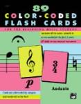 89 Color-Coded Flash Cards [Piano]
