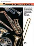 Yamaha Pop-Style Solos for Tenor Saxophone w/CD