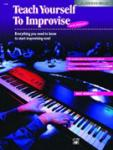 Alfred Teach Yourself to Improvise at the Keyboard w/cd PIANO