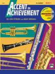 Accent on Achievement Book 1 w/CD - Bb Clarinet