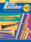 Accent on Achievement, Book 1 [B-flat Tenor Saxophone] Method