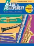 Accent on Achievement, Bari Sax Bk. 1