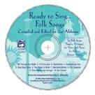 Ready to Sing Folk Songs - (Bk/CD)