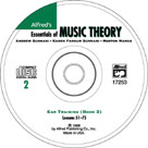 Alfred's Essentials of Music Theory Book 3 - Ear Training CD