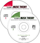 Alfred's Essentials of Music Theory Book 1 thru 3 - Ear Training CDs